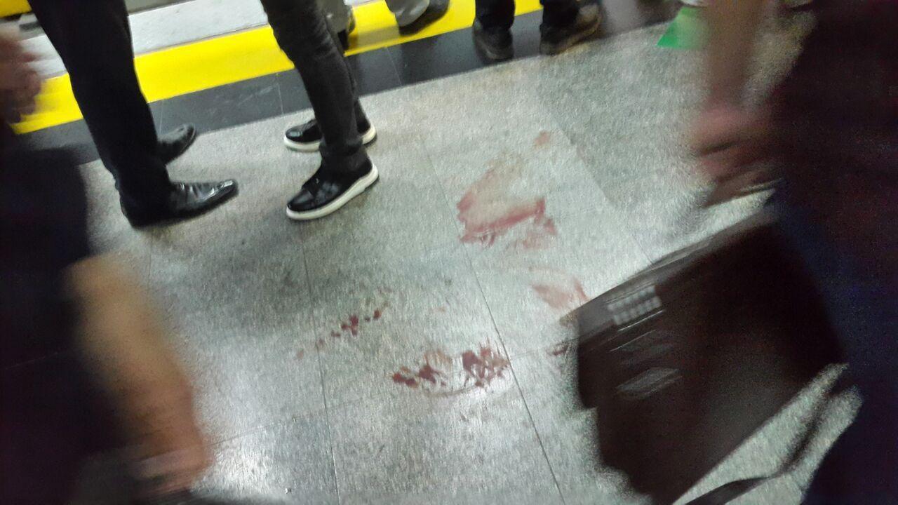 تیراندازی در مترو شهرری به دلیل نزاع جمعی (عکس)