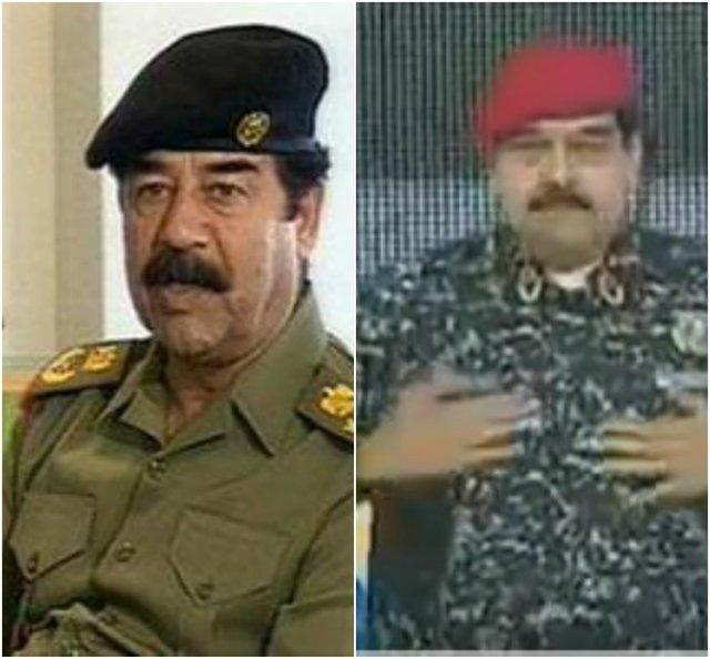 رئیس جمهور ونزوئلا: شبیه صدام شدم!