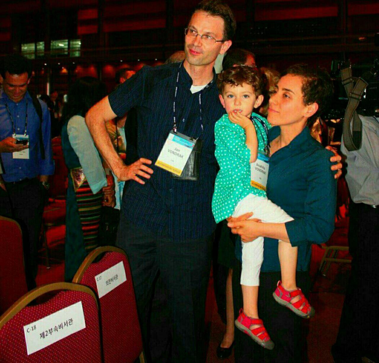 مریم میرزاخانی در کنار همسر و فرزندش(+عکس)