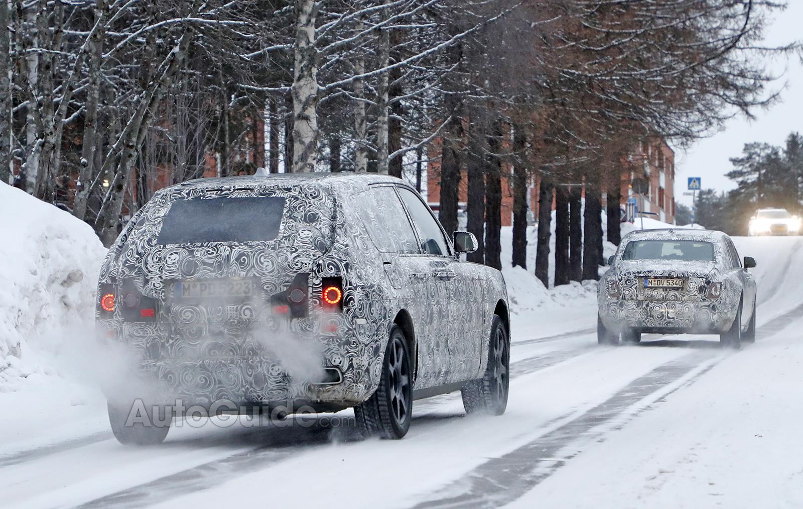 اولین خودروی قدبلند رولزرویس در راه است (+عکس)
