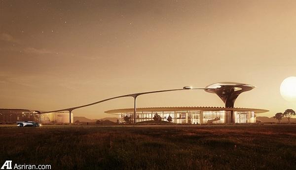 یک کارخانه خودروسازی فوق مدرن (+عکس)