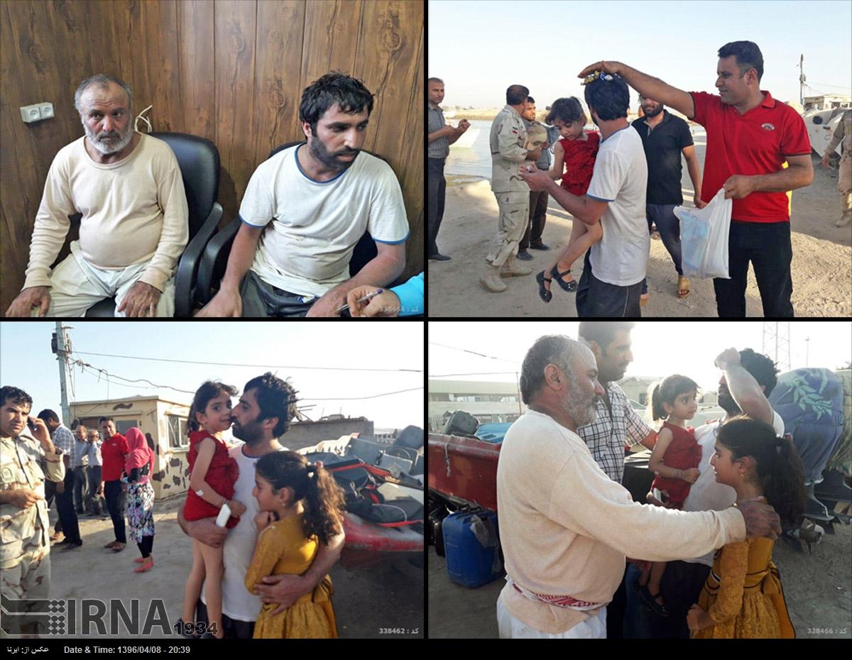 آزادی تعدادی از صیادان اسیر ایرانی (+عکس)