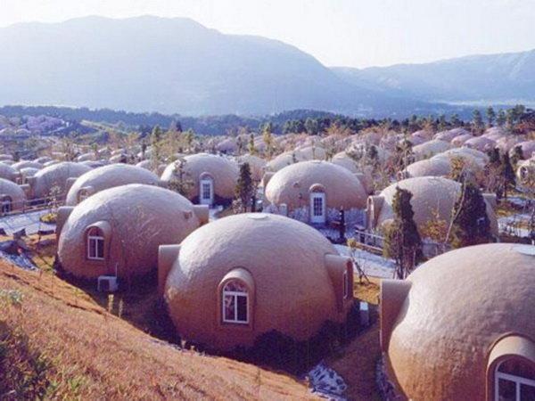 ژاپنی ها برای نجات از ز له خانه های اسفنجی می سازند (+ع )