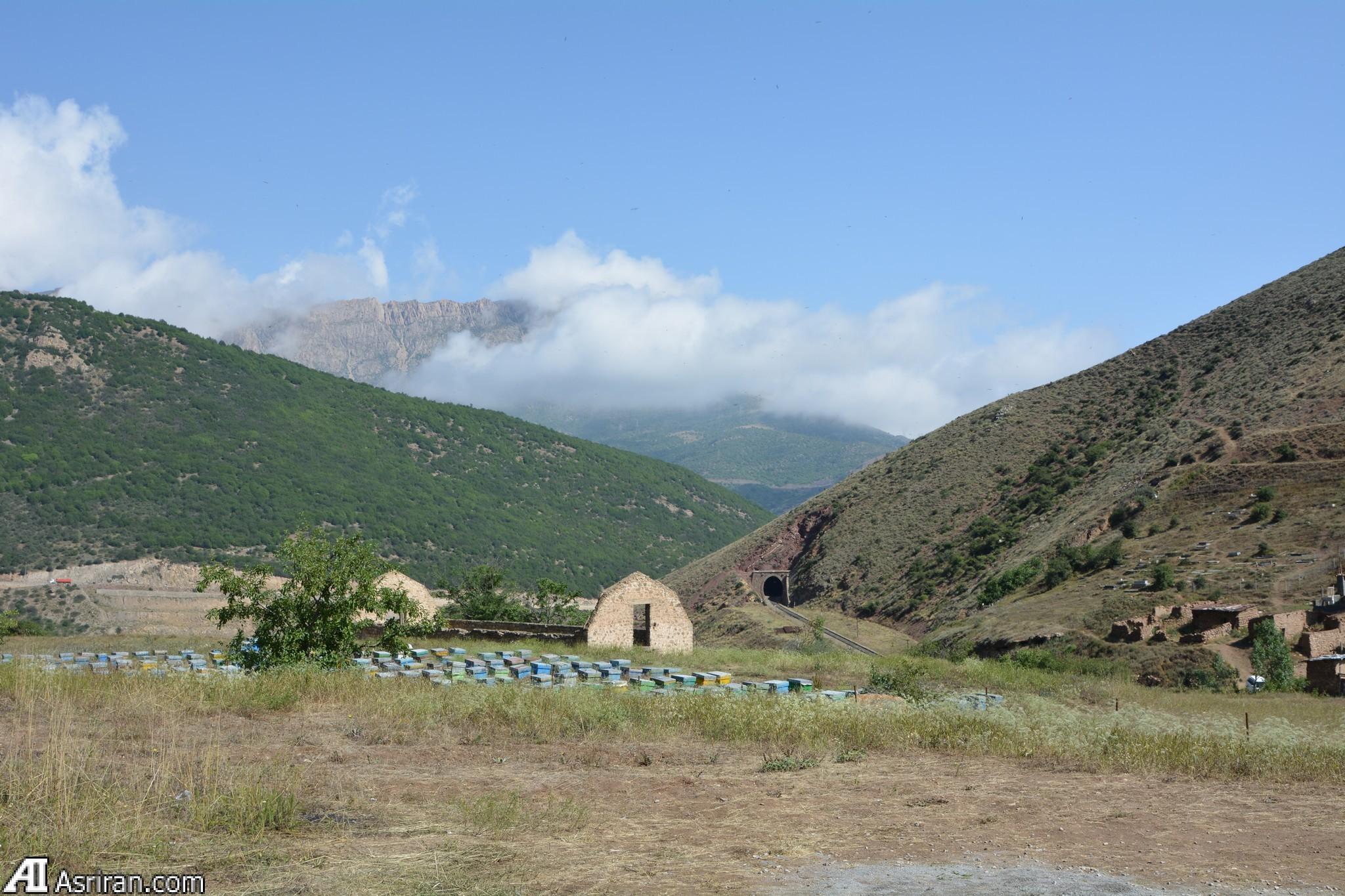 از پناهگاه رضاخانی تا پل ورسک (+عکس)