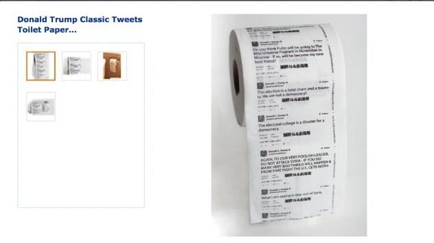 توئیتهای ترامپ طرح ابتکاری آمازون برای نوعی دستمال کاغذی (+ عکس)