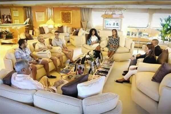شلوارک شاهزادۀ سعودی در دیدار خانم وزیر مصری خبرساز شد (+ عکس)