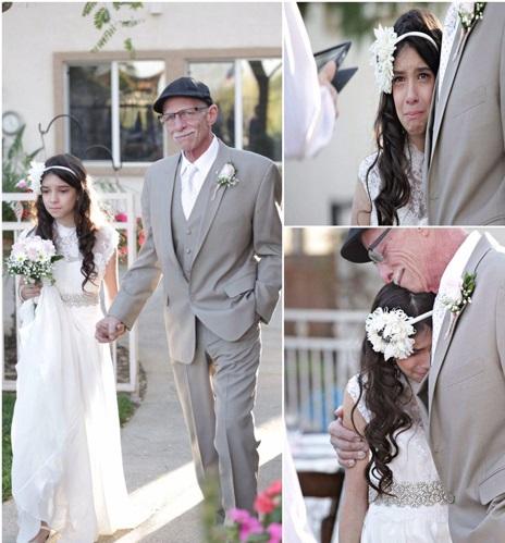 غمگینترین عروسی جهان (عکس)