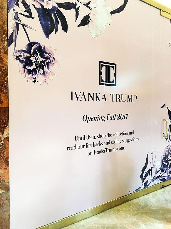 تجارت جدید ایوانکا ترامپ بعنوان چهره پولساز