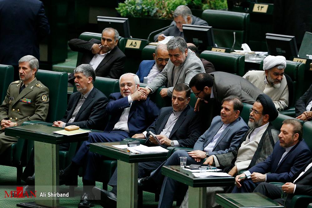 وزرای پیشنهادی کابینه دوازدهم در مجلس (عکس)