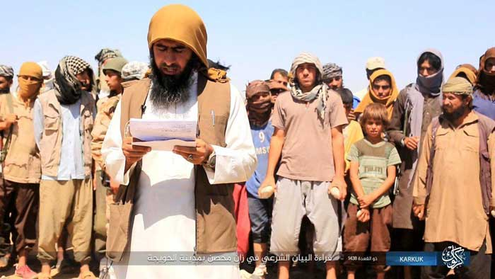 تصاویری از اجرای 3 حکم توسط داعش