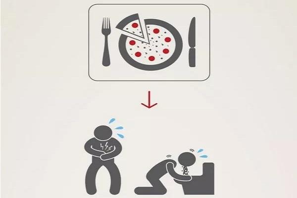 10 نشانه مسمومیت غذایی