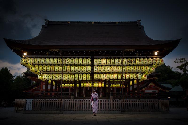 معبدی در ژاپن (عکس)