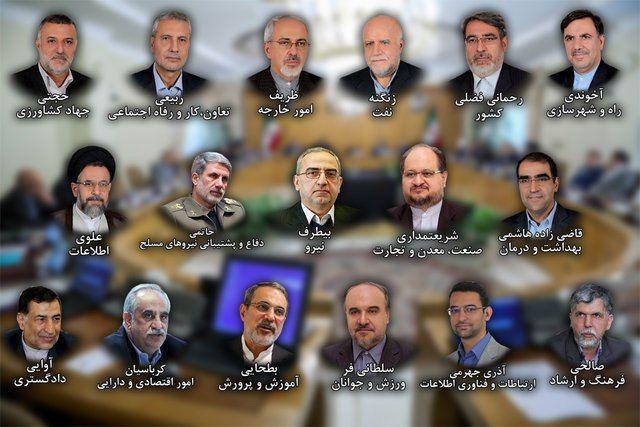 آغاز رایگیری مجلس برای صلاحیت وزیران پیشنهادی