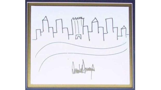 حراج اثر هنری ترامپ! (+عکس)