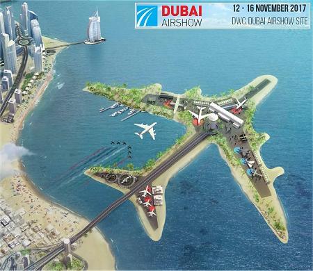 طرحی از نمایشگاه هواپیما (عکس)