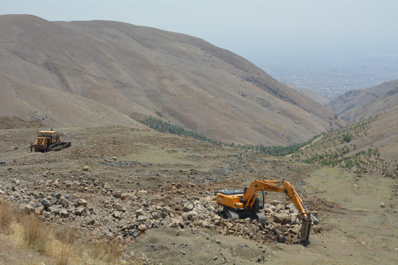 محیط زیست کوه های دوچناران در حال نابودی است