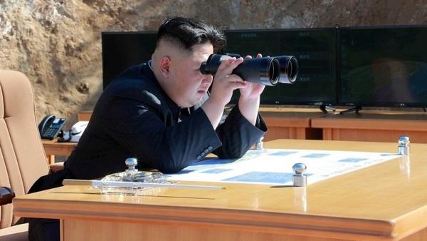 بازدید محرمانه رهبر کرهشمالی از منطقه مرزی