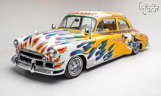 خودروهای خاص و دلبرِ یک موزه در لس آنجلس (+عکس)