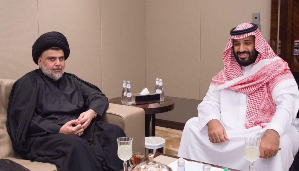 مقتدی صدر و ولیعهد عربستان محمد بن سلمان