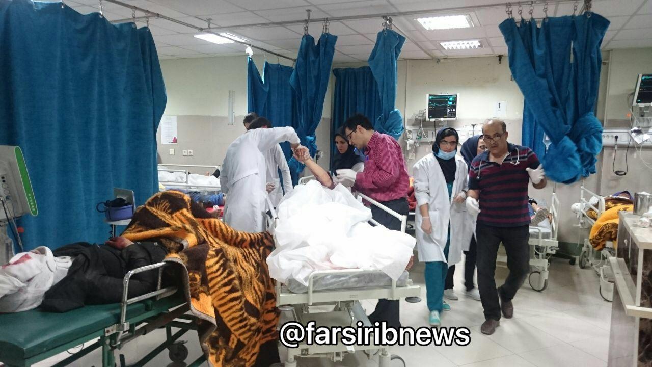 10 کشته و 35 مصدوم در حادثه واژگونی اتوبوس دانش آموزان دختر