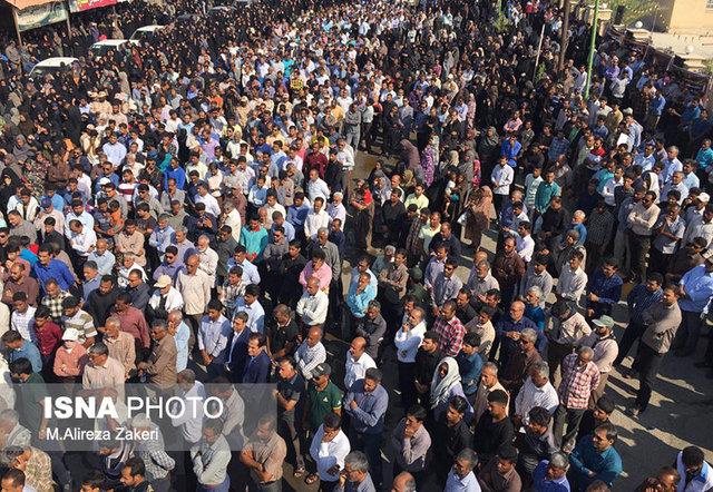 دانشآموزان فرزانه رودانی تشییع شدند (+عکس)