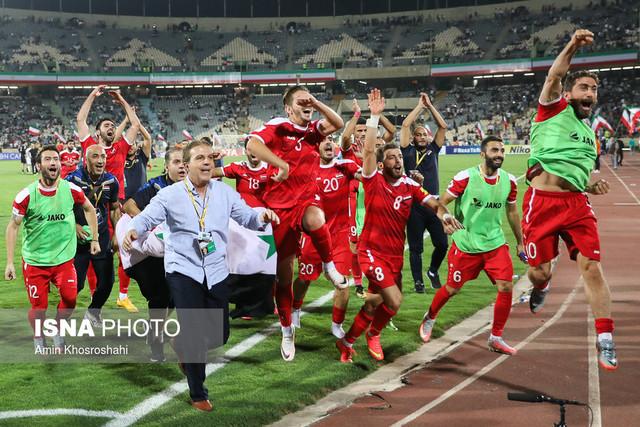 ناسزاگویی بازیکنان سوری پس از تساوی/ ایرانیها را بدبخت کردیم!