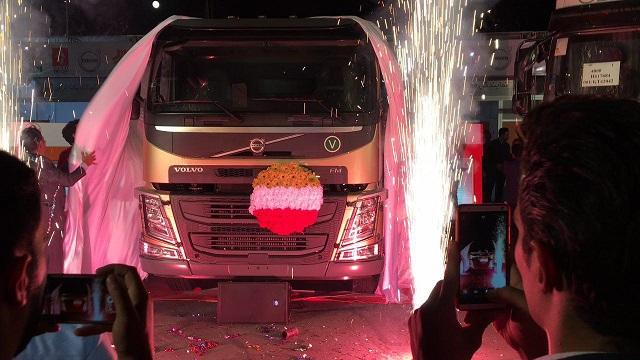 کامیون جدید ولووFM کشنده رونمایی شد (+عکس)