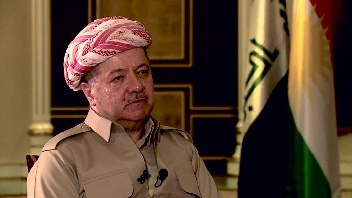 مسعود بارزانی: نگرانی مخالفان همه پرسی استقلال کردستان بهانه تراشی است
