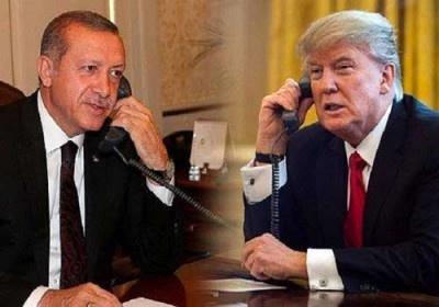 گفتوگوی تلفنی ترامپ و اردوغان