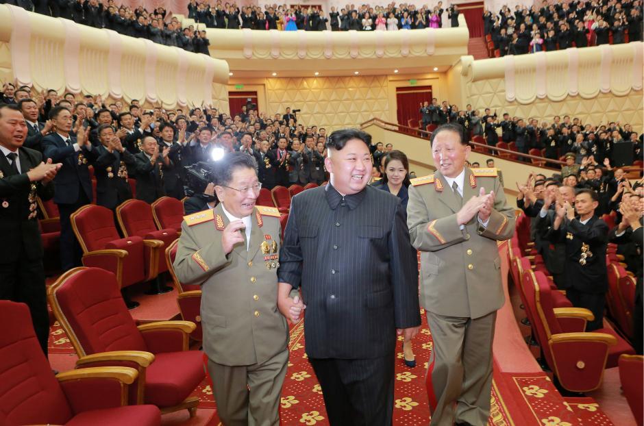 برگزاری جشن هسته ای با حضور رهبر کره شمالی (+عکس)