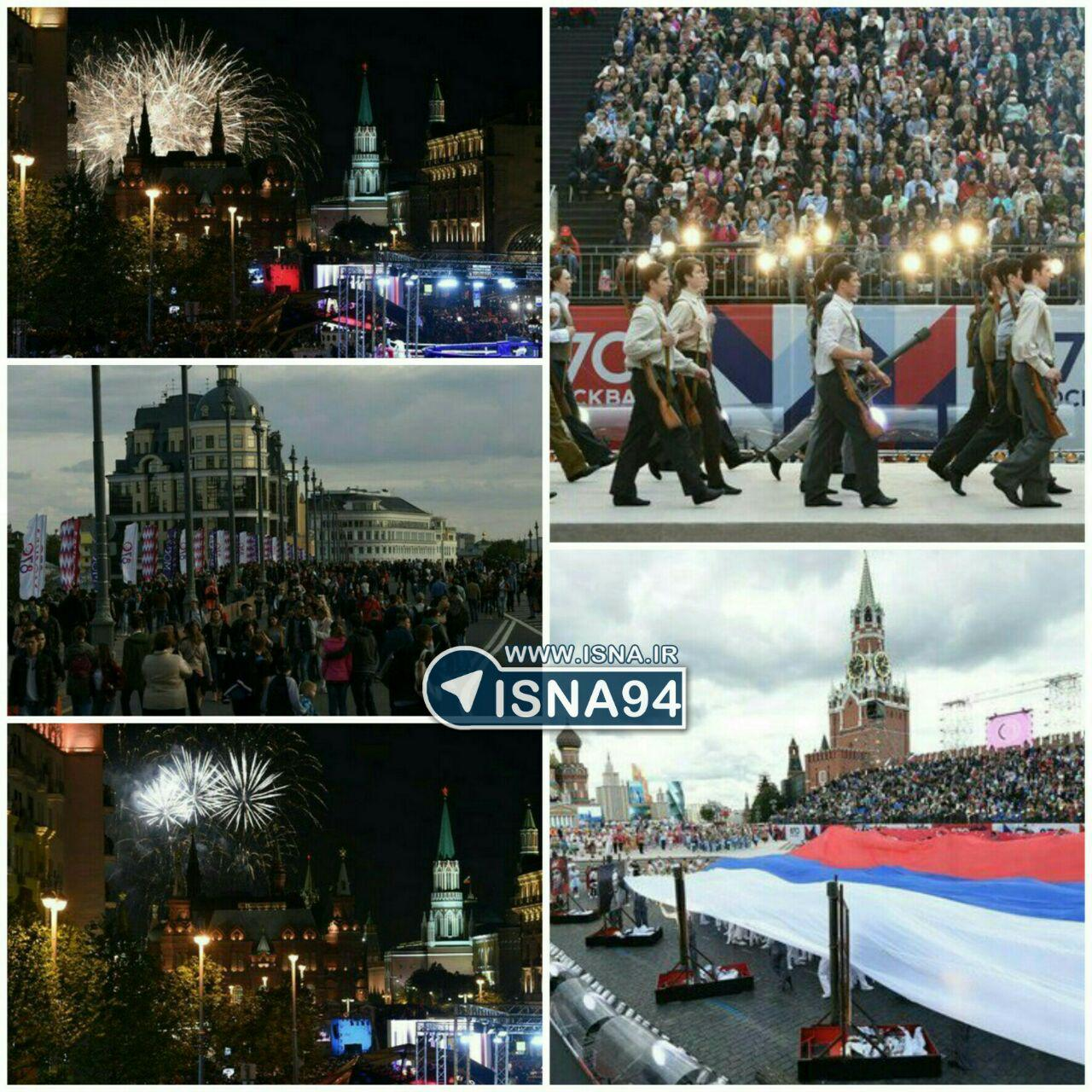 مسکو 870 ساله شد (+عکس)