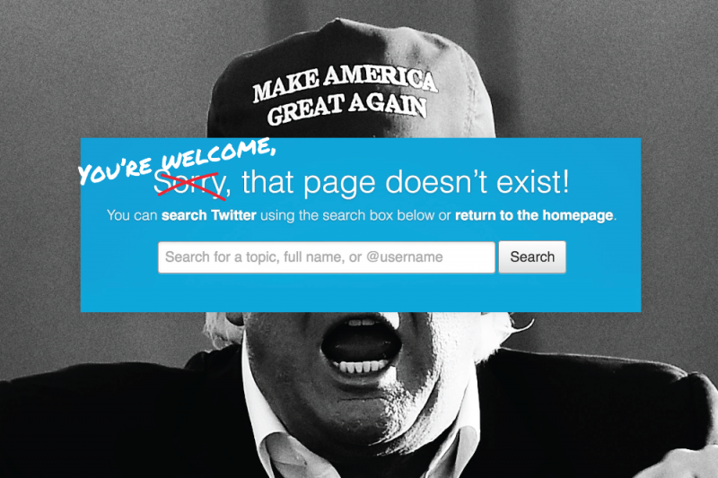 کمپین جمع کردن 1 میلیارد دلار برای بیرون کردن ترامپ از توییتر