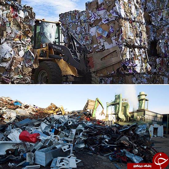 موفق ترین کشور در بازیافت زباله (عکس)