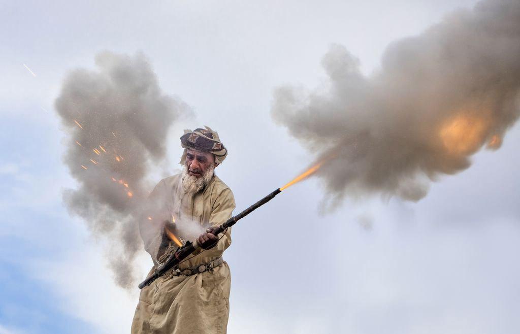 آتش بازی عروسی (+عکس)