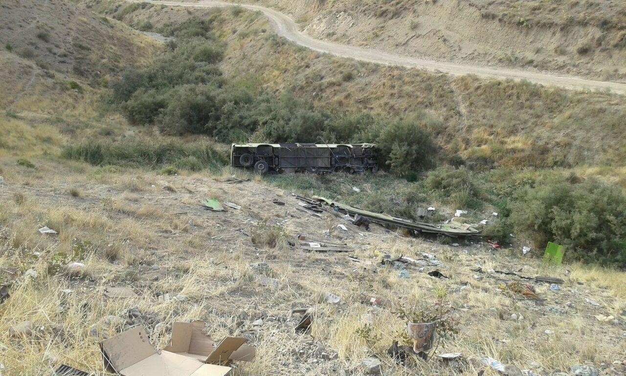 علت و مقصر سقوط اتوبوس ولوو به دره آبعلي اعلام شد