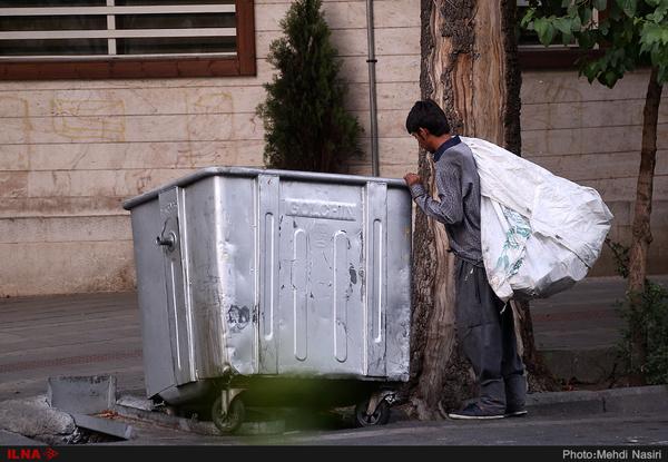 آماری تکان دهنده/کودکان ایرانی و افغان در صدر زباله گردهای جهان!