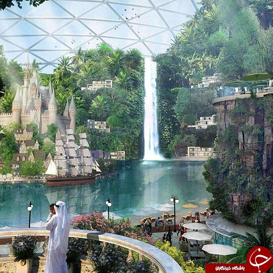 شهر سقف دار در دبی ساخته می شود (+عکس)