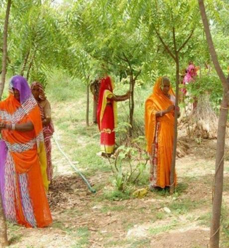 رسم جالب قبیله هندی! (عکس)