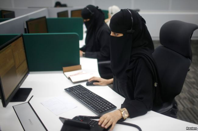مرکز فوریت های زنان در مکه (+عکس)