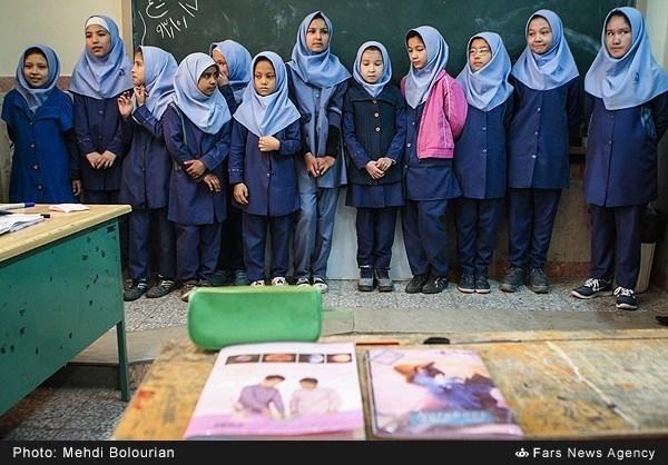 دختران افغان؛ دختران شيفت دوم مدرسه