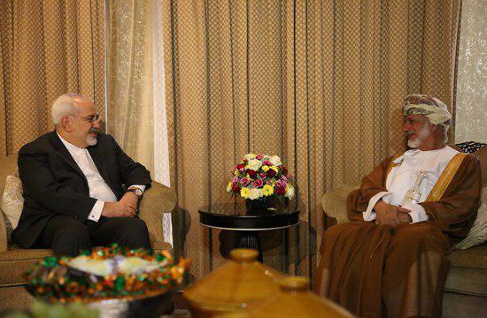 استقبال وزیر خارجه عمان از ظریف (عکس)