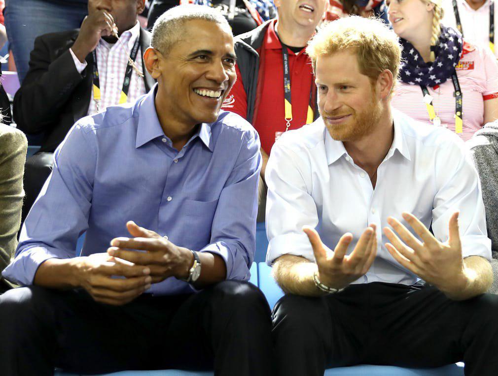 اوباما و نوه ملکه بریتانیا در تورنتو (عکس)