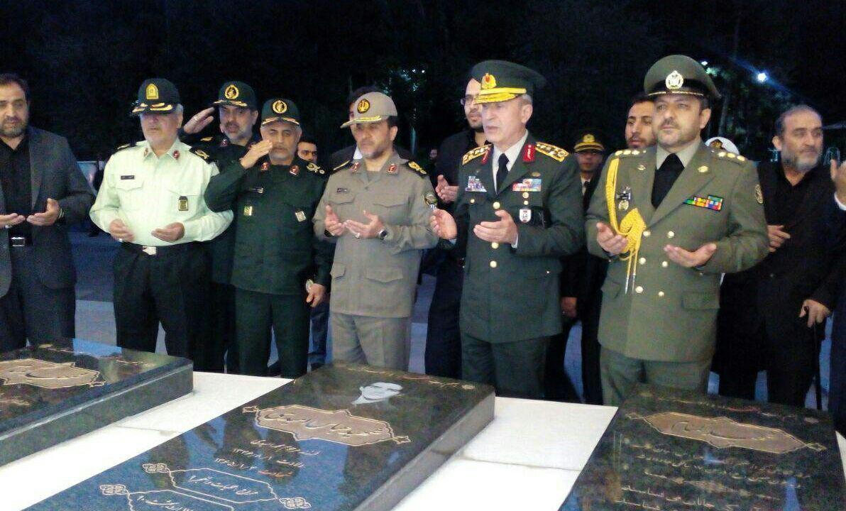 بازدید رئیس ستاد ارتش ترکیه از موزه انقلاب اسلامی و دفاع مقدس (+عکس)