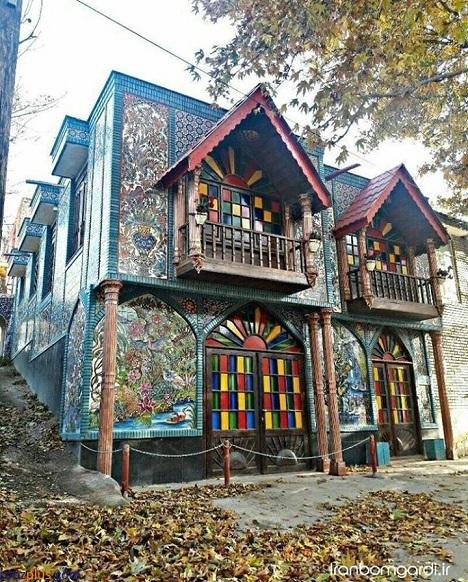 خانه زیبا و باورنکردنی خواننده ایرانی (عکس)