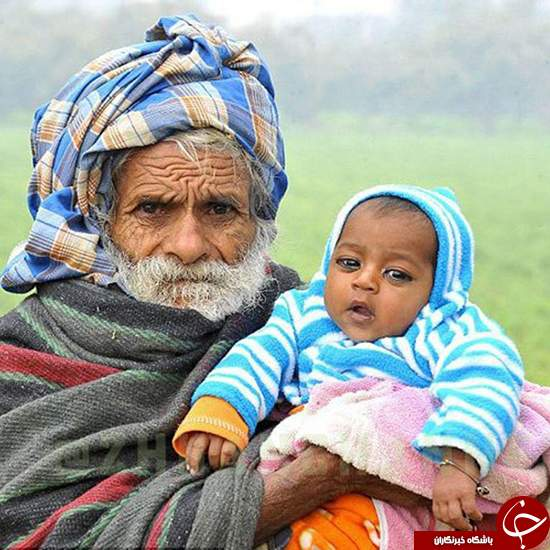 پیرترین پدر جهان را بشناسید (+عکس)