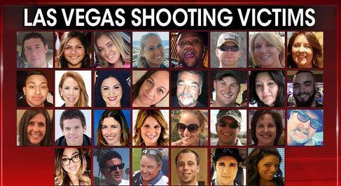 شناسایی 30 قربانی حمله تروریستی لاس وگاس (عکس)