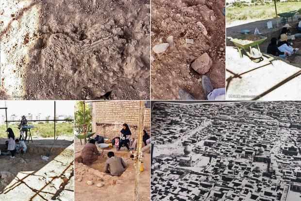 کشف اسکلت های دوران ساسانیان در شیراز/ قدمت شهر حافظ به 6500 سال رسید