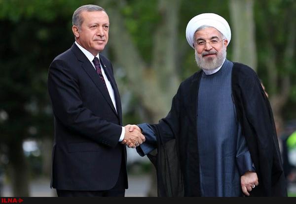 استقبال رسمی روحانی از اردوغان (+عکس)