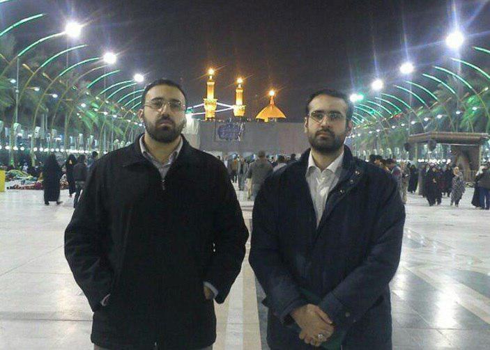 2 پسر علی لاریجانی (عکس)
