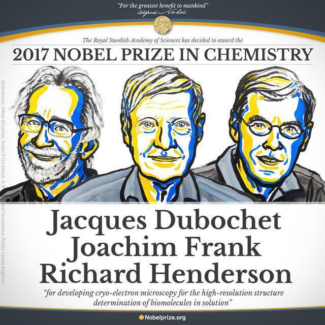 معرفی برنده جایزه نوبل شیمی 2017